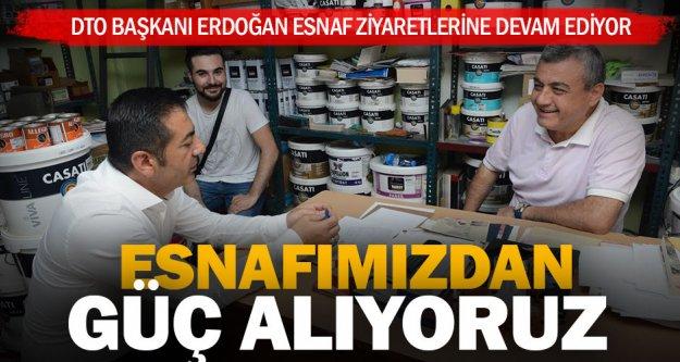 Erdoğan: DTO'ya üyelerimiz yön veriyor
