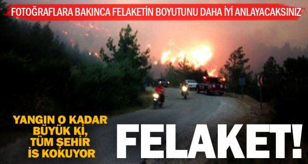 Fotoğraflar, felaketin boyutunu daha iyi anlatıyor
