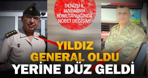 İl Jandarma Komutanlığında nöbet değişimi