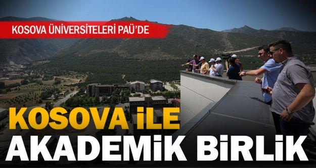 Kosova üniversiteleri ile PAÜ işbirliği