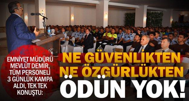 Müdür Demir'den personeline, vatandaş odaklı talimat