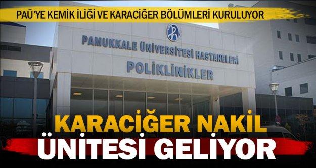 Pamukkale Üniversitesi'ne iki önemli bölüm açılıyor