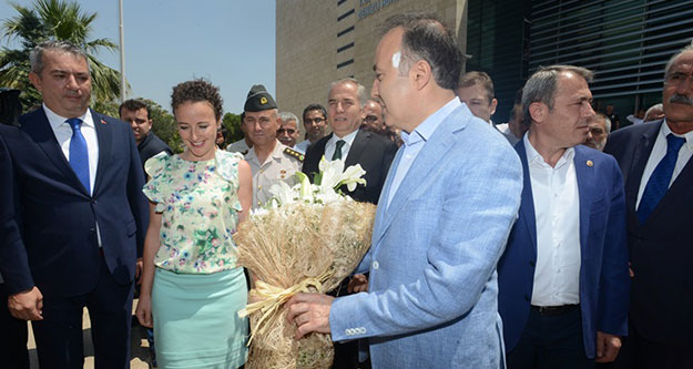 Vali Altıparmak Ankara'ya uğurlandı