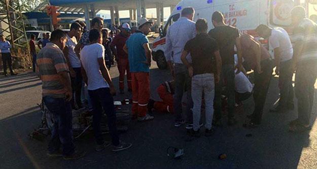 17 yaşındaki Mustafa motosiklet kurbanı