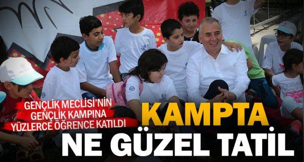 Başkan Osman Zolan'dan Gençlik Kampı'na ziyaret