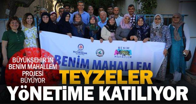 Büyükşehir'in önemli projesi ile mahalleli yönetime katılıyor
