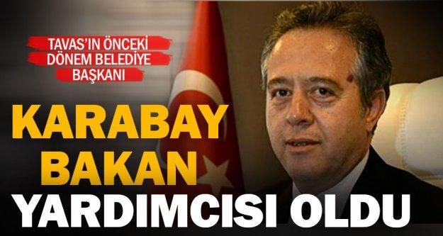 Denizlili ikinci bakan yardımcısı Mehmet Karabay oldu