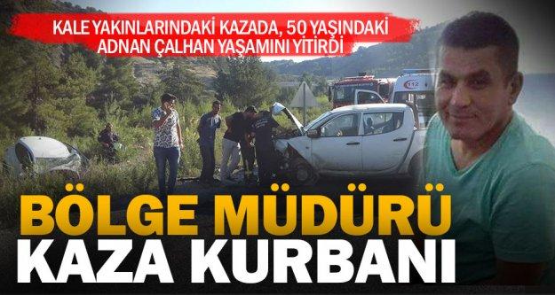 Kale'deki kazada pazarlama müdürü yaşamını yitirdi