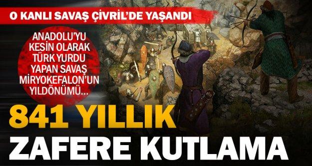 Büyükşehir'den 841 yıllık zafere anlamlı tören