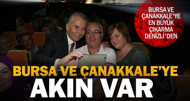 Büyükşehir ile Bursa ve Çanakkale gezileri sürüyor