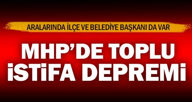 Çivril MHP'de 41 kişi istifa etti