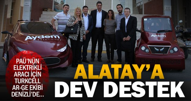 Turkcell Ar-Ge Merkezi'nden Alatay ziyareti