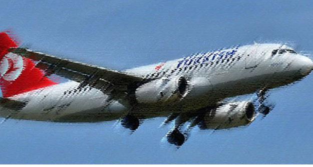 Uçak pas geçti, yolcular panik oldu