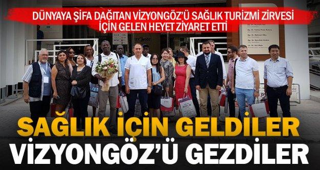 Vizyongöz'e uluslararası ziyaret