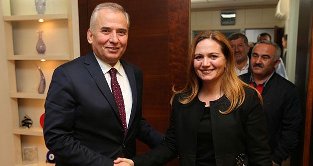 Acıpayam AK Parti'den Başkan Zolan'a ziyaret