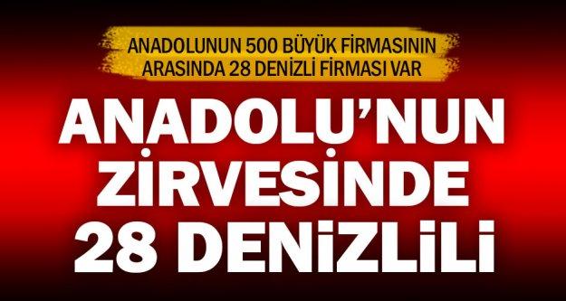 Anadolu 500'de Denizli'den 28 firma