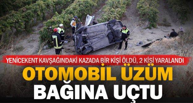Buldan'daki kazada bir kişi öldü, 2 kişi yaralandı