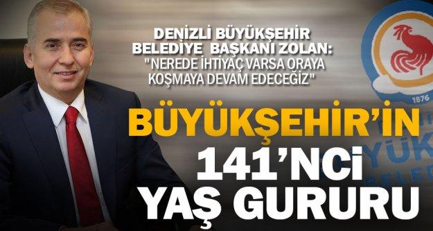 Büyükşehir Belediyesi 141 yaşında