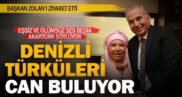 Büyükşehir Denizli'yi türkülerle buluşturuyor