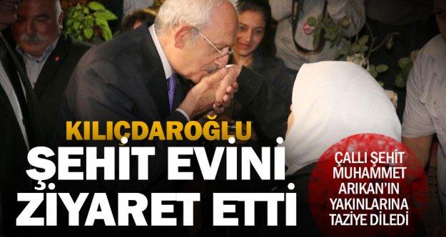 CHP Lideri Kılıçdaroğlu, Denizli'de şehit evini ziyaret etti