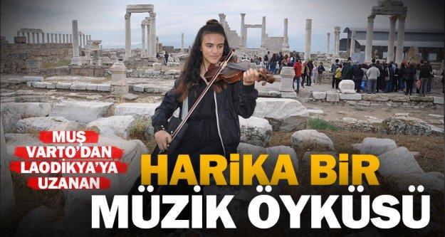 Laodikya'da 'Müzikli Bir Hikaye'