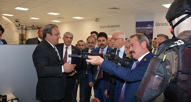 Milletvekili Şahin Tin'den Havelsan'a övgü