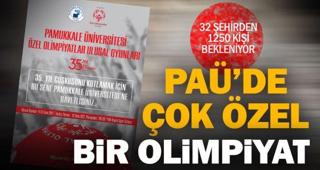 PAÜ'de özel sporcular için özel olimpiyat