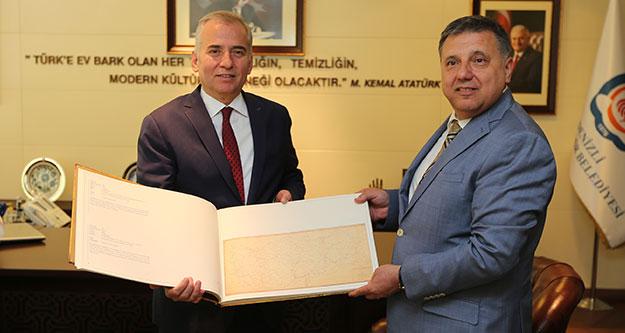 PTT'den Başkan Osman Zolan'a ziyaret