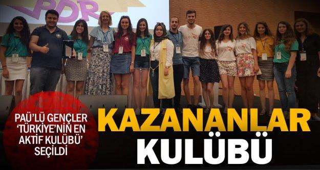 Türkiye'deki en aktif öğrenci topluluğu PAÜ'den