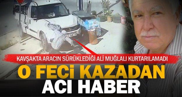 Yenişafak'taki kazadan acı haber