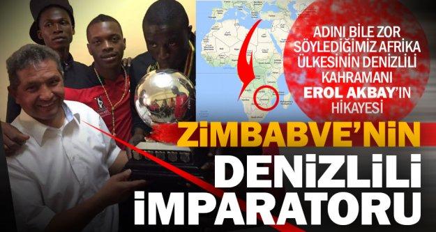 Zimbabve'nin futbol kahramanı bir Denizlili