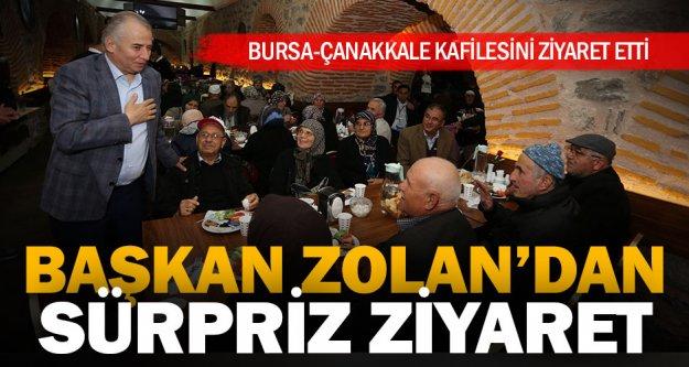Başkan Osman Zolan'dan sürpriz ziyaret