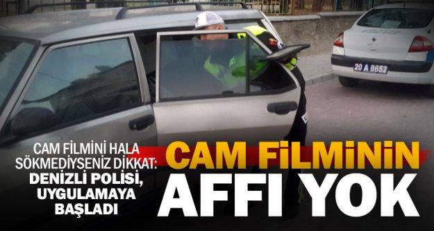 Buldan'da cam filmine ceza