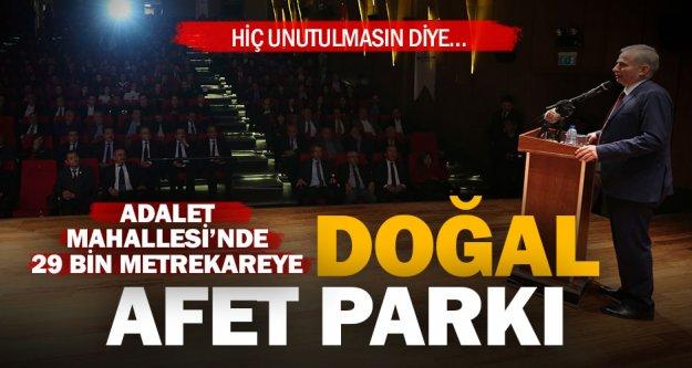Büyükşehir'den Denizli'ye Doğal Afet Parkı