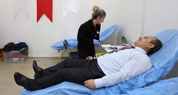 Büyükşehir DESKİ'den 4. geleneksel kan bağışı