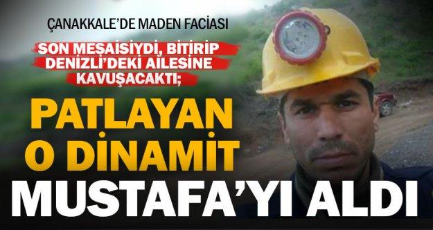 Çanakkale'deki çinko madenindeki göçükte Denizlili işçi hayatını kaybetti