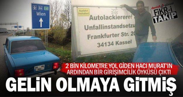 Hacı Murat Almanya'da gelin arabası olacak