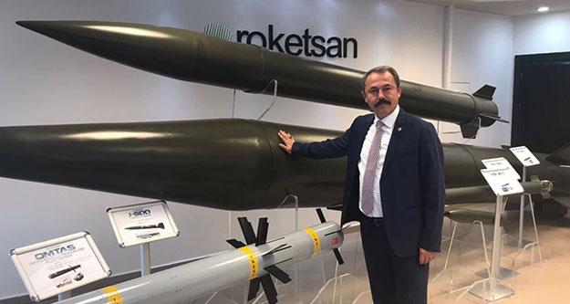 Rokatsan'ı gezdi, böyle dedi: Milli Projeler gururumuz