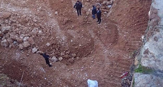 Temel kazı alanında hazin ölüm