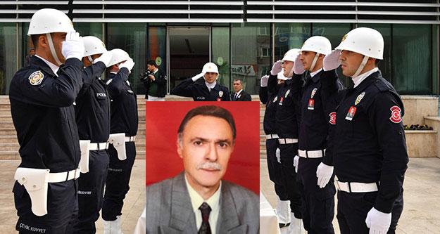 Vali Yardımcısı Coşkun'a son görev