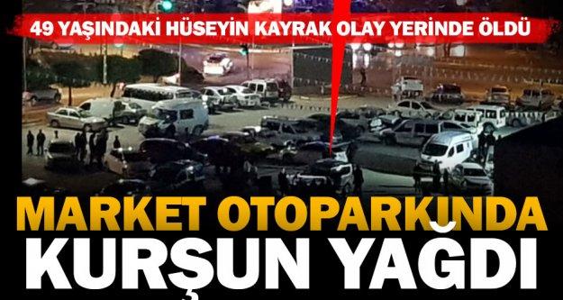 Yenişehir'de otoparkta infaz
