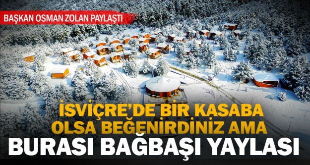 Başkan Zolan'ın seçkileri: Denizli'den kartpostallık kar görüntüleri