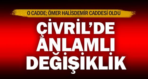 Çivril Meclisi Muzaffer Başıbüyük Caddesi'nin ismini Ömer Halis Demir yaptı