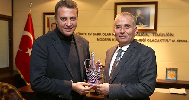 Fikret Orman'dan Başkan Zolan'a ziyaret