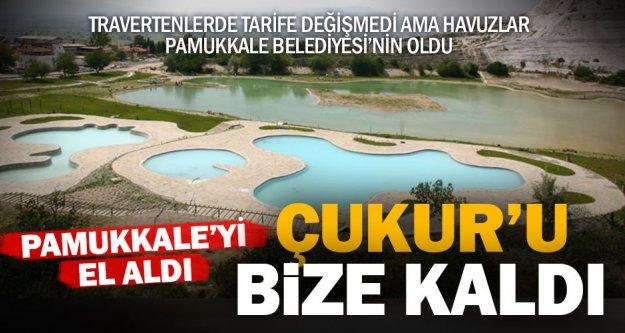 Pamukkale Kocaçukur'un işletmesini Pamukkale Belediyesi aldı