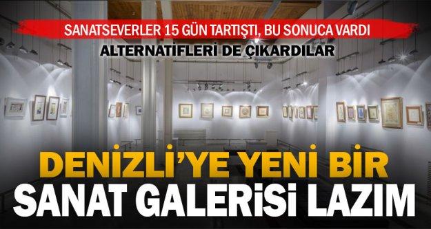 Turan Bahadır Sergi Salonu yetmiyor, yenisi lazım!