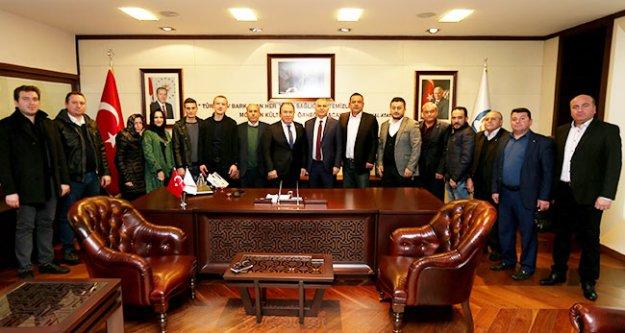 AK Parti Babadağ Teşkilatı'ndan Başkan Zolan'a ziyaret