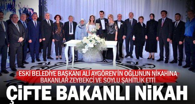 Aygören ailesinin mutlu günü