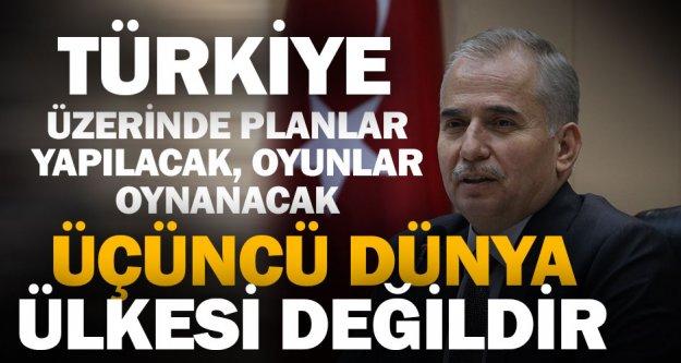 Başkan Osman Zolan'dan Afrin mesajı