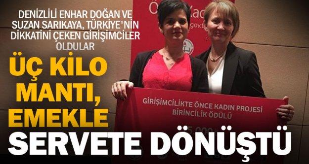 Bu kadınların girişimciliği, Türkiye'ye örnek oldu